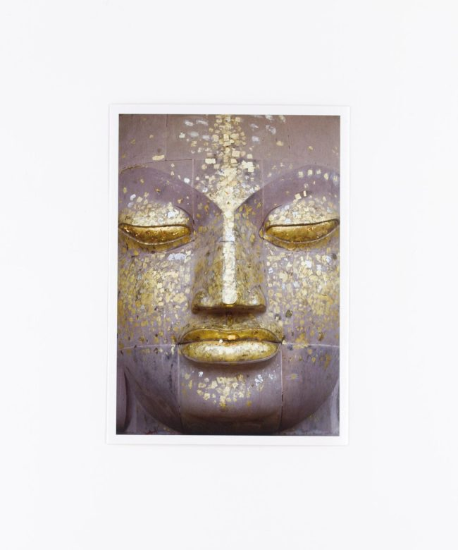 Fotopostkarte Buddha