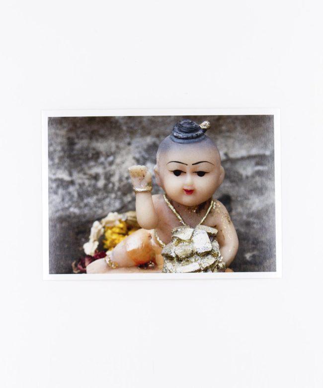 Fotopostkarte Kitsch Buddha