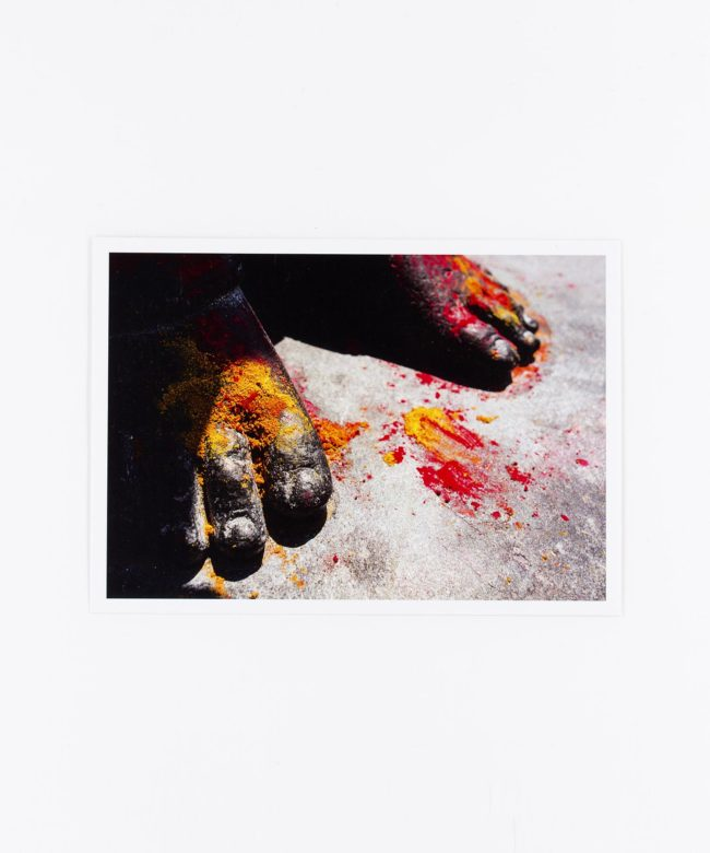 Fotopostkarte Garudas Feet