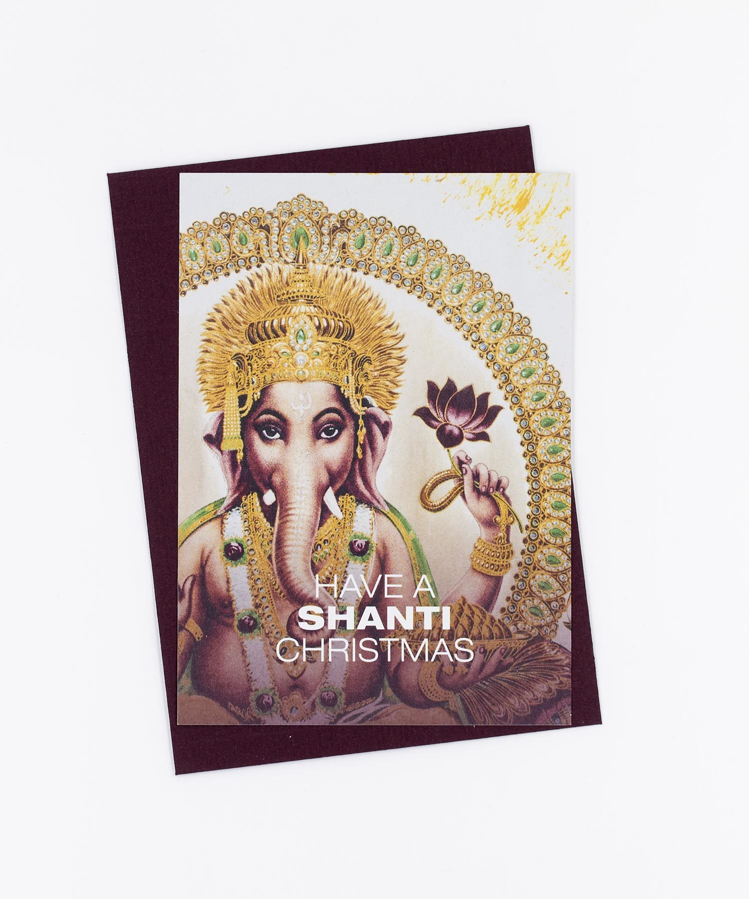 Weihnachtskarte Shanti Christmas