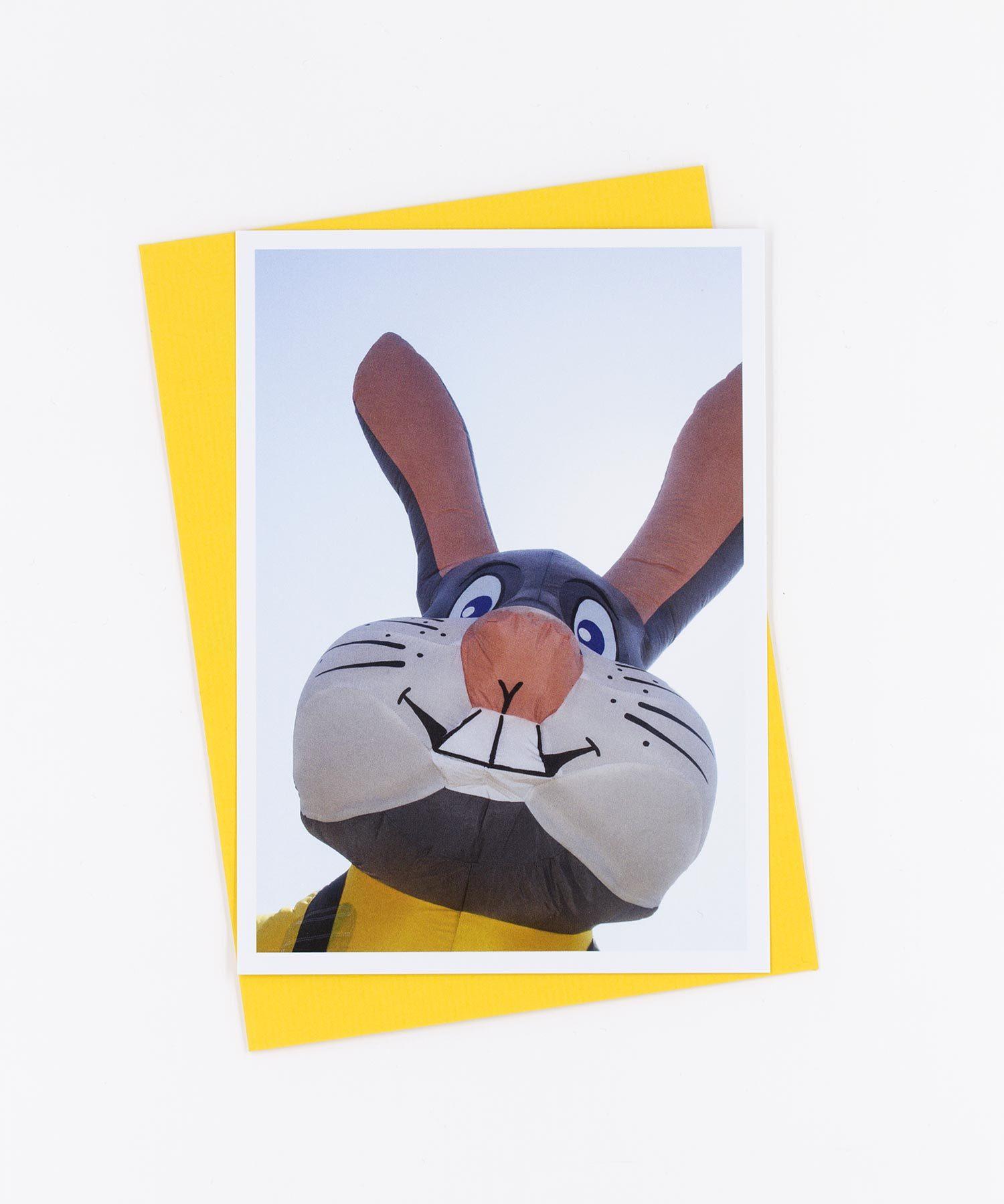 Fotopostkarte Bunny