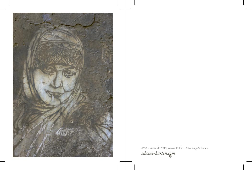 Fotopostkarte Hijab