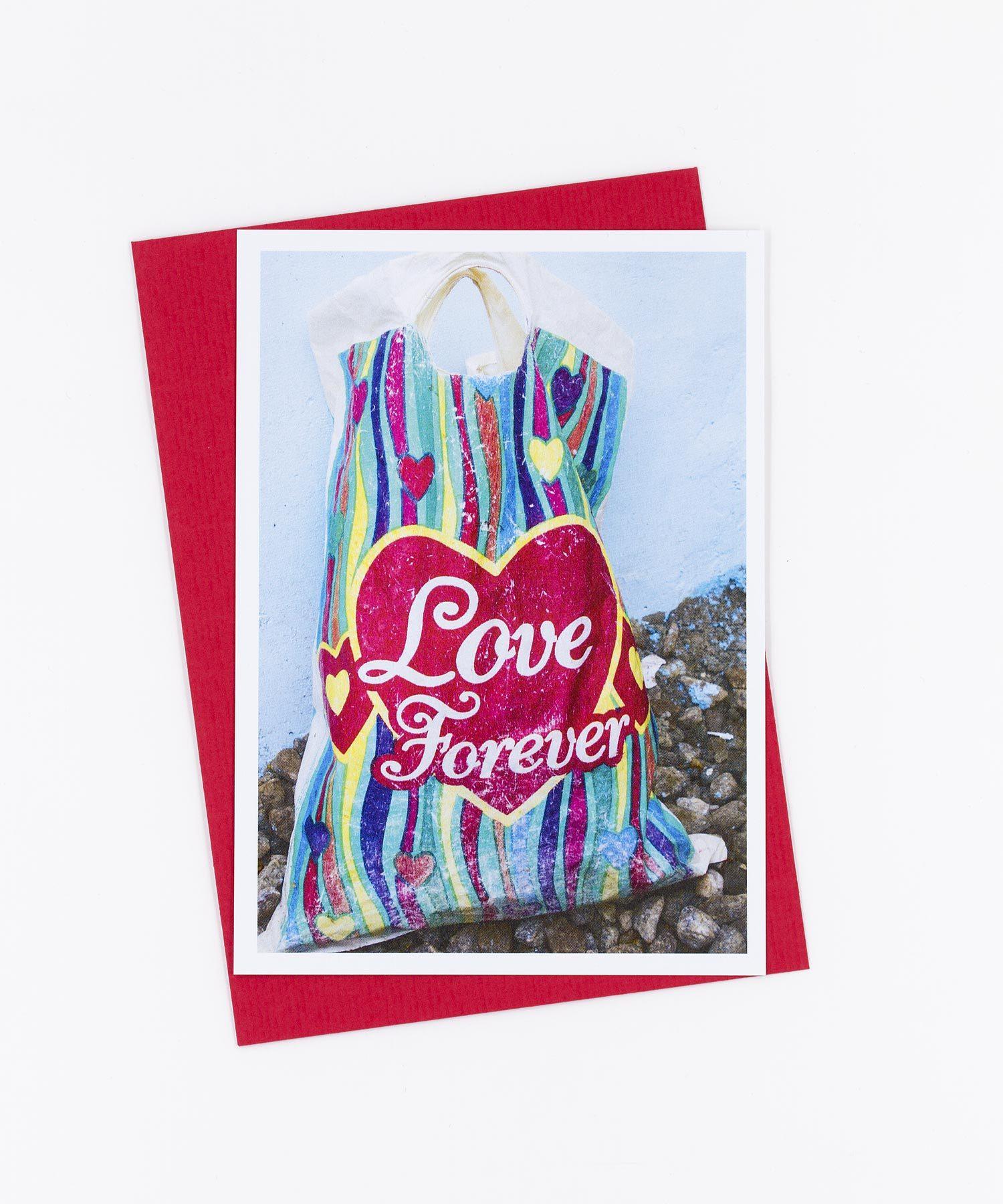 Fotopostkarte Love Forever