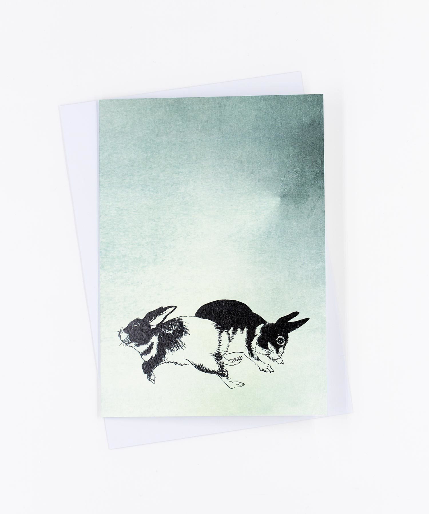 Grußkarte Hasen