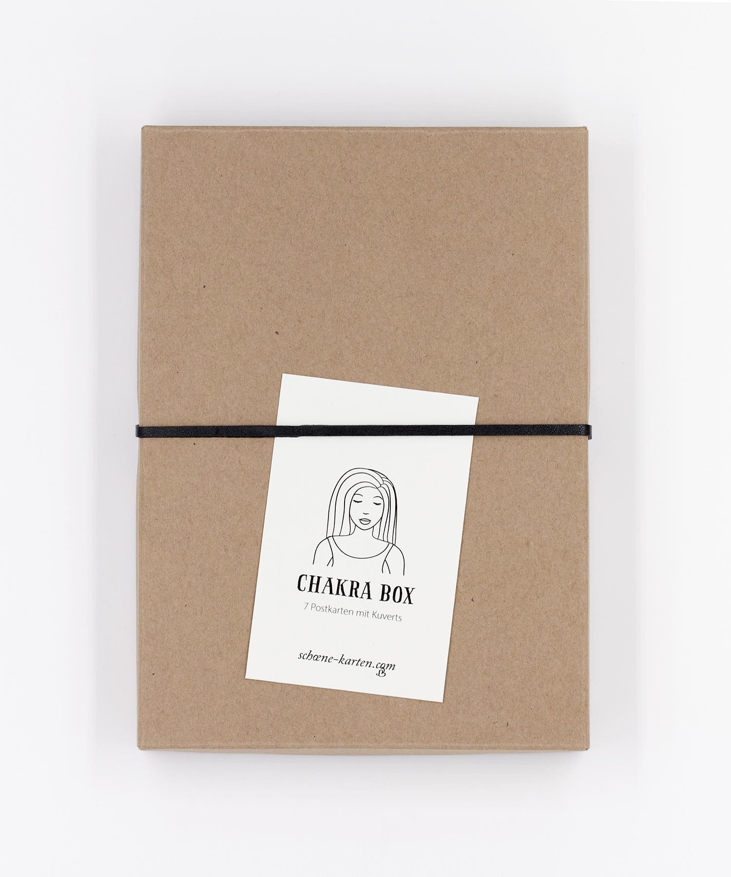 Chakra Postkarten Box
