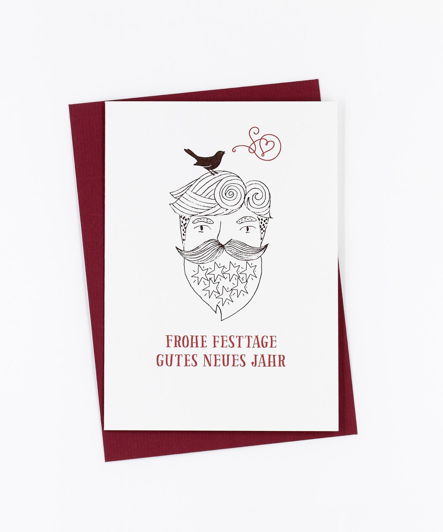 Weihnachtskarte Little Bird