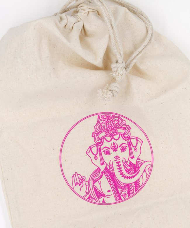 Ganesha Beutel pink