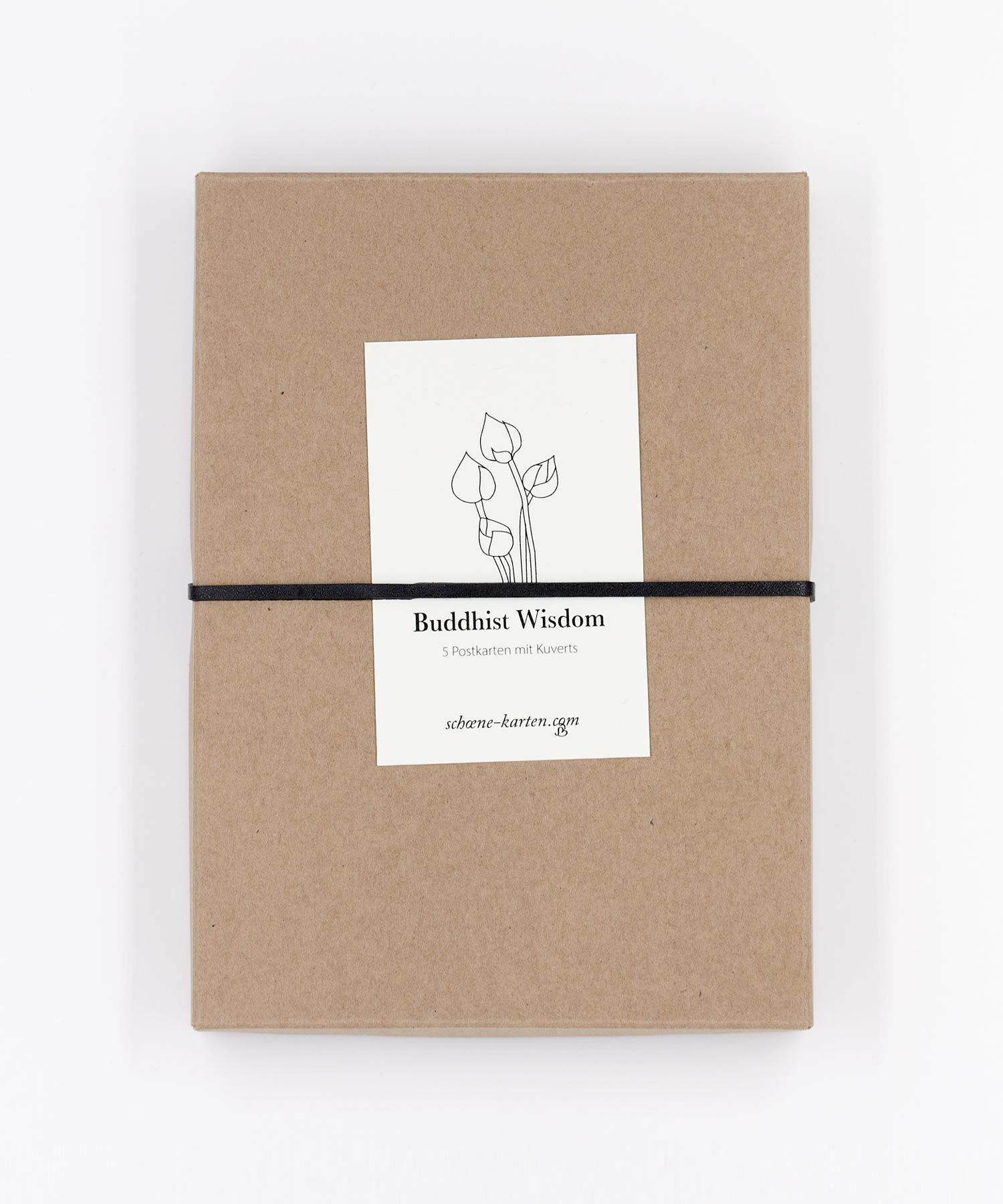 Buddhist Wisdom Postkarten Box