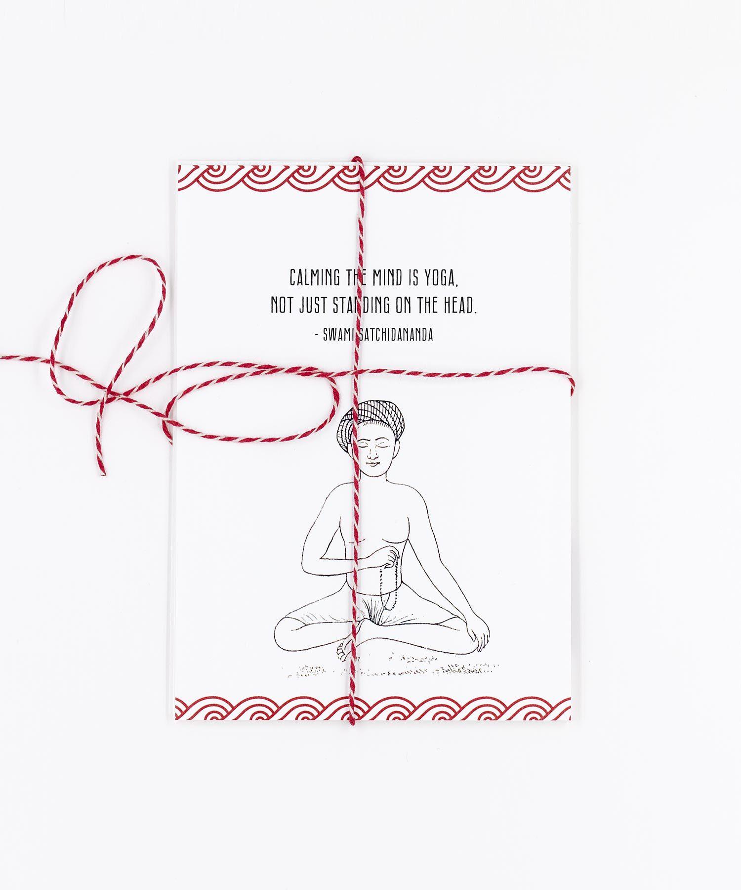 Yogi Quotes Postkarten Set