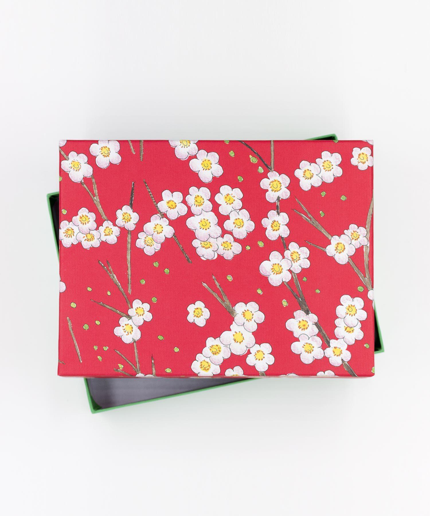 Geschenkschachtel Kirschblüten