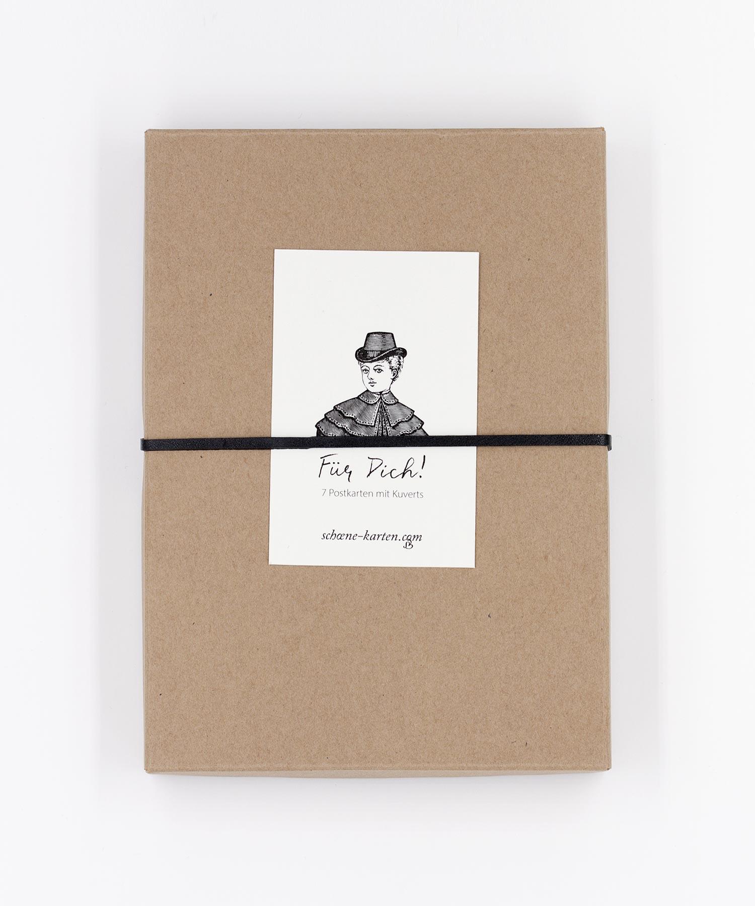 Blumen für Dich Postkarten Box