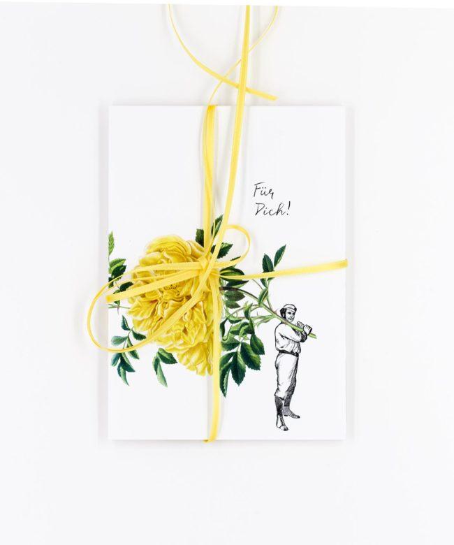Blumen für Dich Postkarten Set