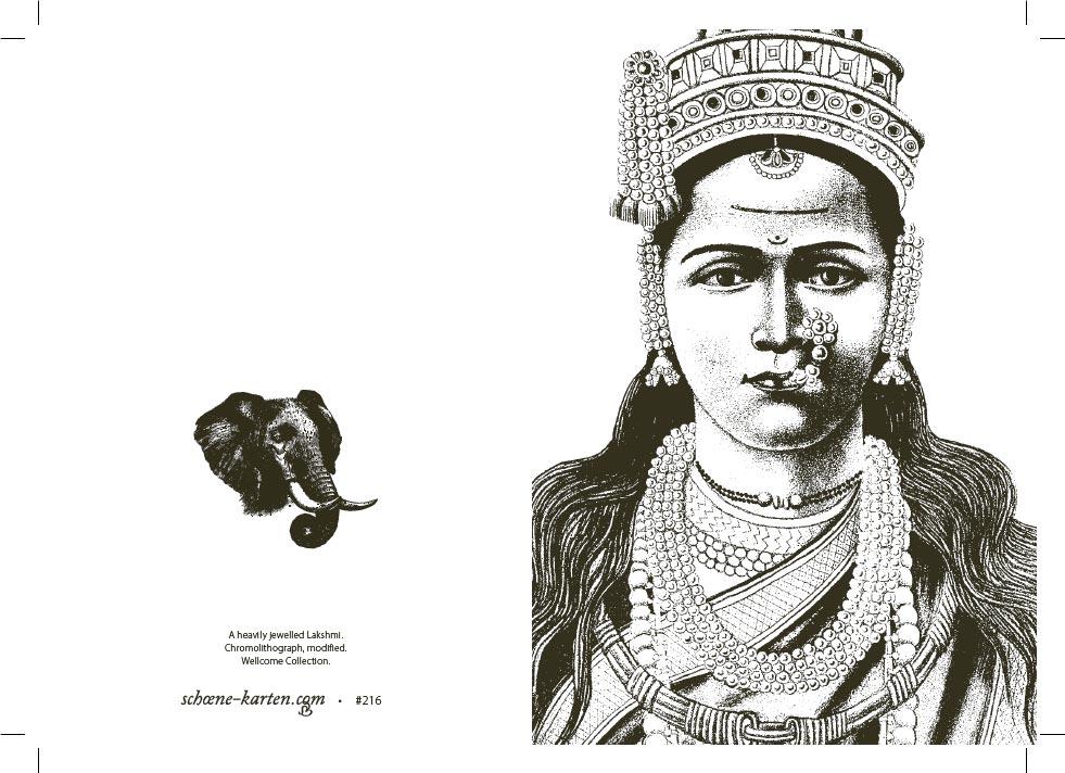 Portrait mit Elefant