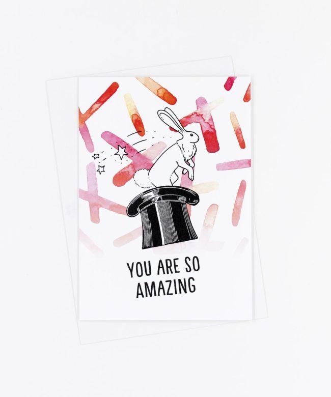 Grußkarte You Are So Amazing