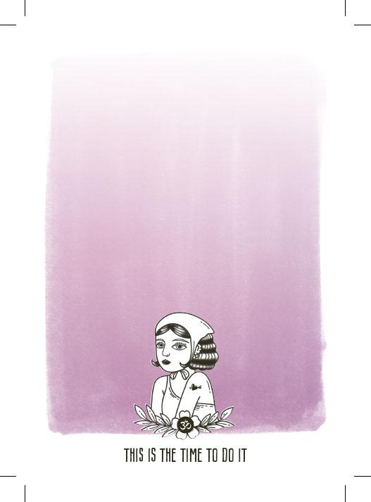 Notizblock Horoscope pink