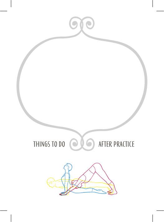 Notizblock Yoga Sun Salutation
