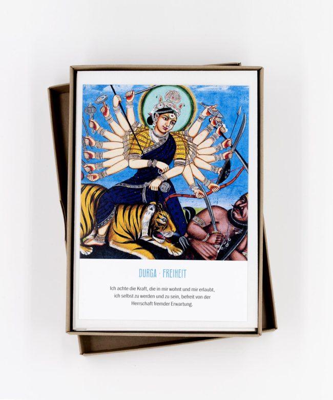 Göttinnen Postkarten Box